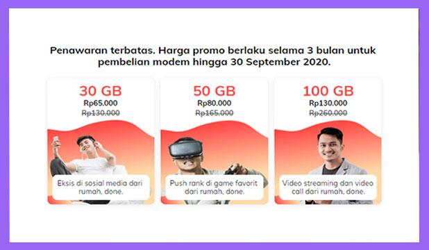 Harga Paket Internet Orbit