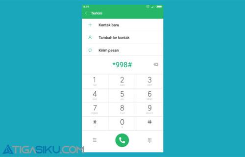 Kode Dial USSD 2