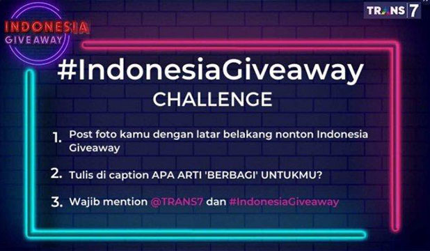 Twitter Chalange Indonesia Giveaway