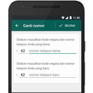 Cara Ganti Nomor WhatsApp tanpa Menghilangkan Chat di HP Android