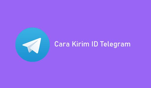 Cara Kirim ID Telegram