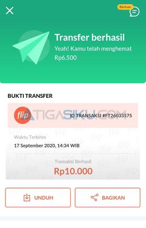 Unggah Bukti Transaksi