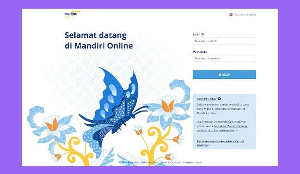 Cek Saldo Mandiri Lewat HP via Internet Banking Mandiri