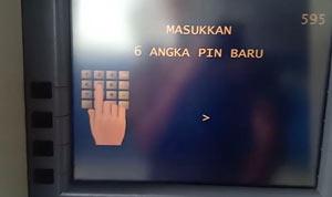 Masukkan PIN ATM Baru