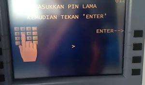 Masukkan PIN ATM Lama