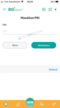 Masukkan PIN Transaksi 2