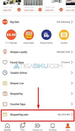 Pilih Shopee PayLater