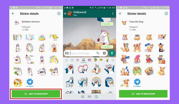 10 Sticker Packs for WhatsApp