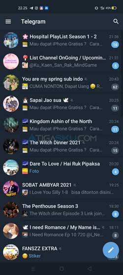 Buka Aplikasi Telegram