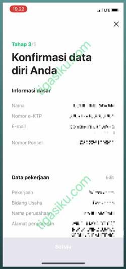 Konfirmasi Data Diri