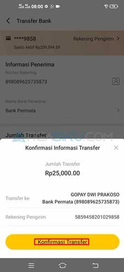 Konfirmasi Transfer 1