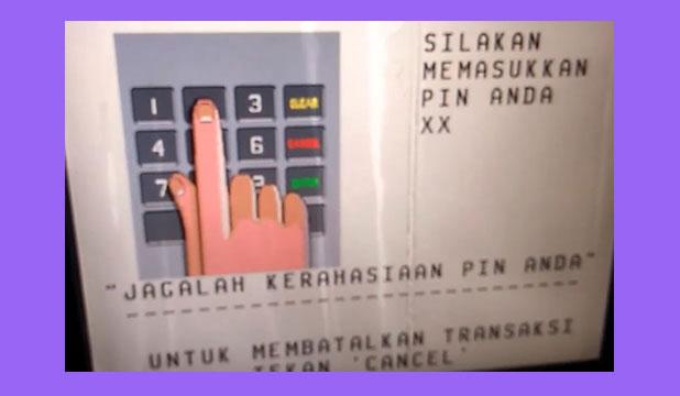 Masukkan Kartu ATM BCA PIN