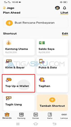 Buka Aplikasi Bank Jago 1