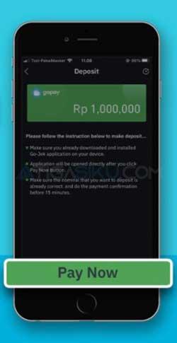 Klik Pay Now