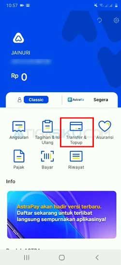 Buka Aplikasi AstraPay 4