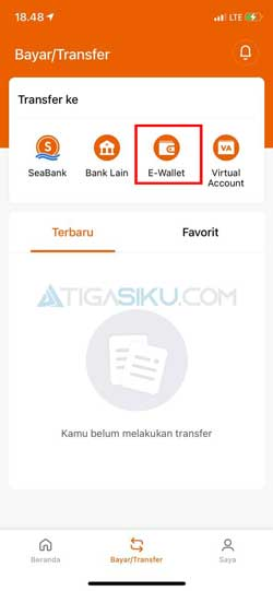Pilih E Wallet 1